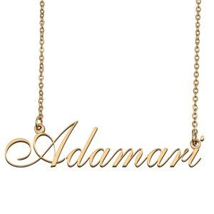 Custom Personalized Adamari Name Necklace